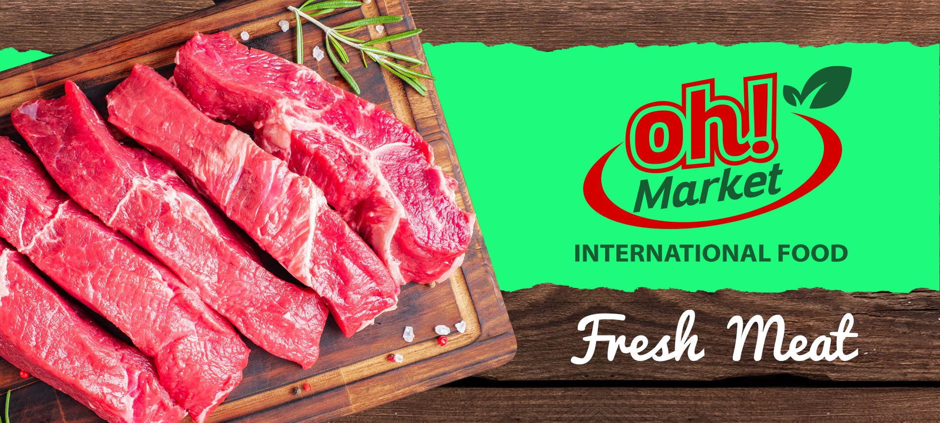 Oh! Market International Food Meat
